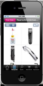 mobiles shopsystem