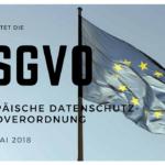 DSGVO europäische datenschutz-grundverordnung - Lukas Plewnia – Europaflagge | Flickr | CC BY 2.0.
