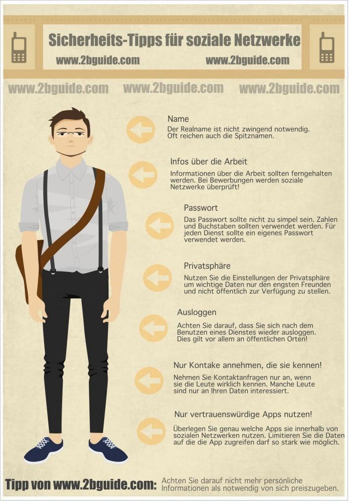 Tipps für mehr Sicherheit in sozialen Netzwerken wie Facebook, Google+ und Twitter.