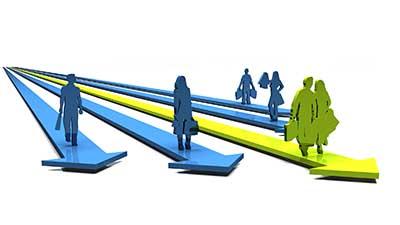 Durch den Einsatz verschiedener Personnas werden die Zielgruppen eines Online-Shops greifbar gemacht.